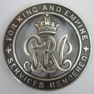 WW1 Silver War Badge
