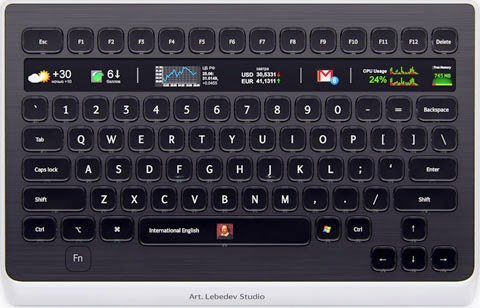 Art Lebedev LCD Keyboard at Best Shopping Sites List