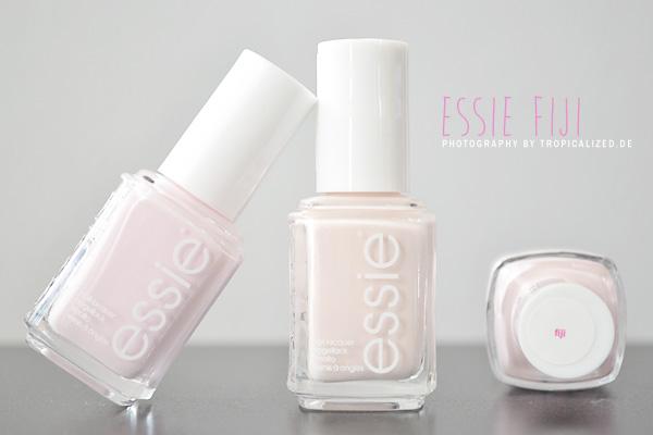 essie fiji Nagellack weiß rosa pastell