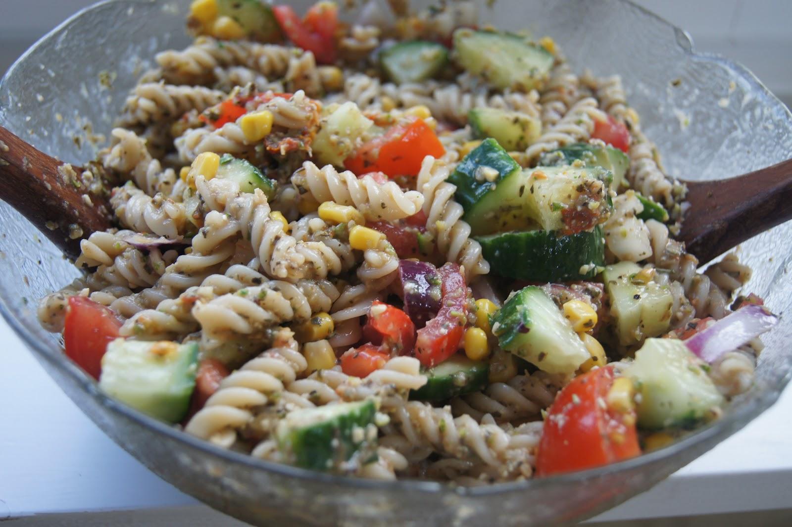 Simple Oil-free Vegan Pasta Salad   Gluten-Free-Vegan-Girl