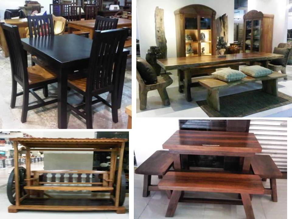 Nice Manila Shopper Wooden Furniture At Market