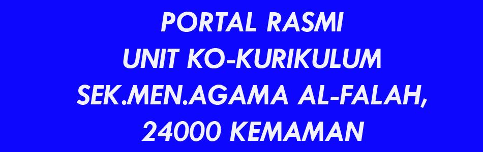 Portal Rasmi Kokurikulum SMA. Al-Falah, Kemaman