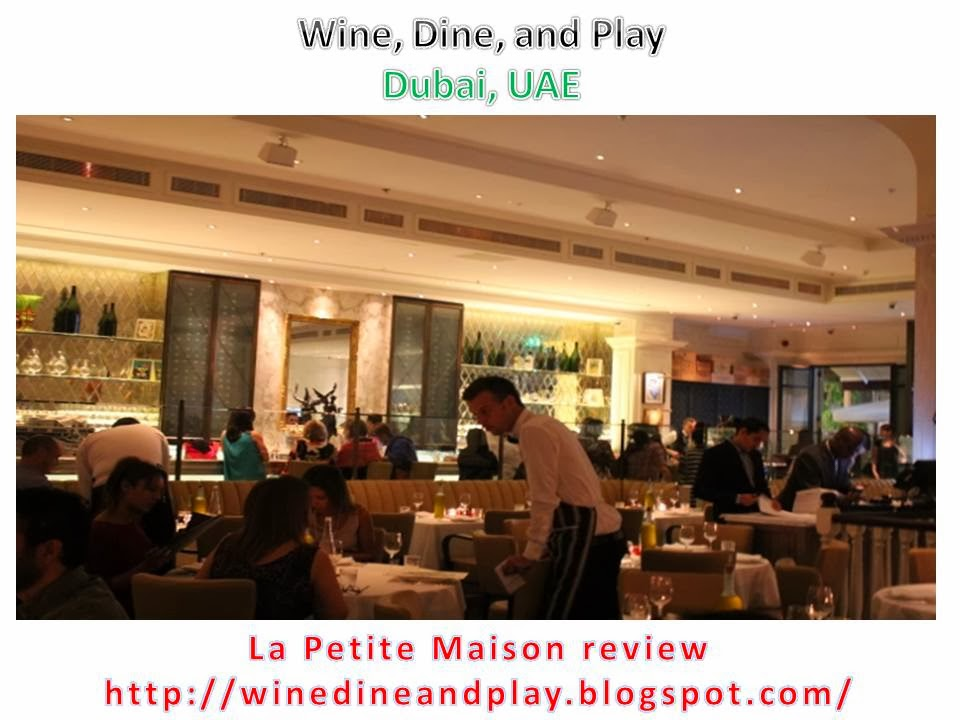 Wine Dine And Play La Petite Maison