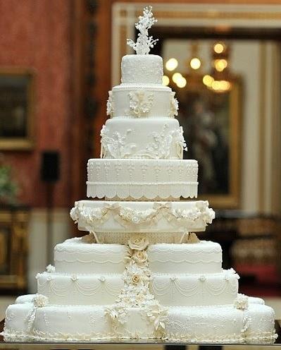 Kiwi Cakes The Royal Wedding Cake