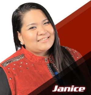 Janice Javier of the Voice of the Philippines [Photo courtesy of The Voice PH]