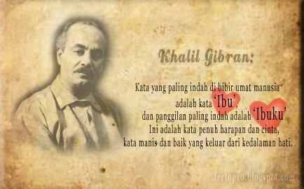 Khalil Gibran Indonesia Khalil Gibran Atau Gibrān