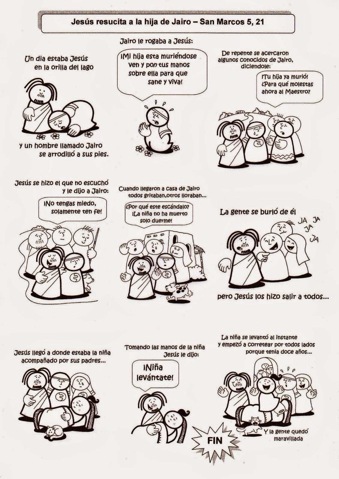 SGBlogosfera. Amigos de Jesús: RESURRECCIÓN DE LA HIJA DE JAIRO PARA ...