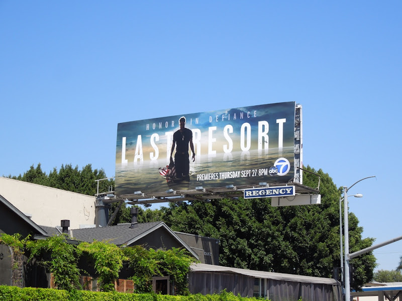 Last Resort abc billboard