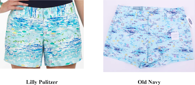 old navy, the gap, lilly pulitzer, copyright infringement, lawsuit