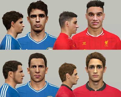 PES 2014 Facepack vol.2 By NazhoPalma