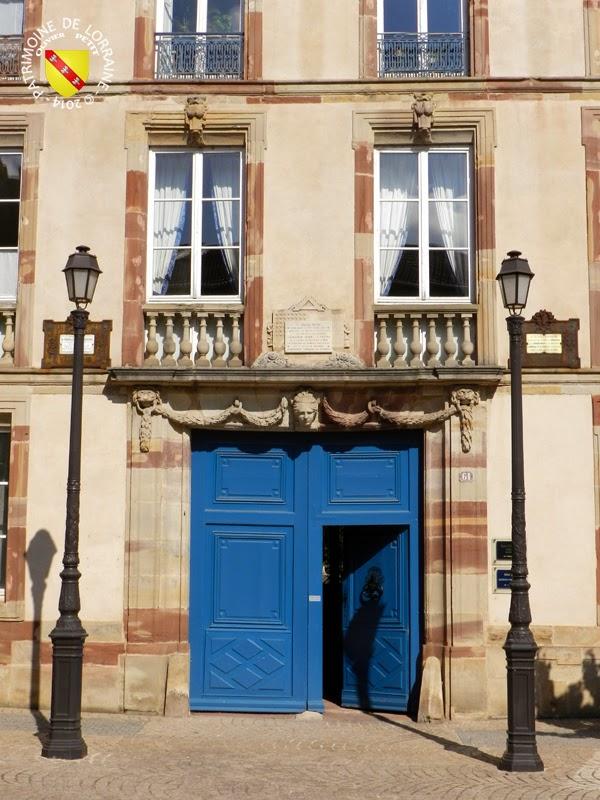 LUNEVILLE (54) - Maison du traité du 9 février 1801