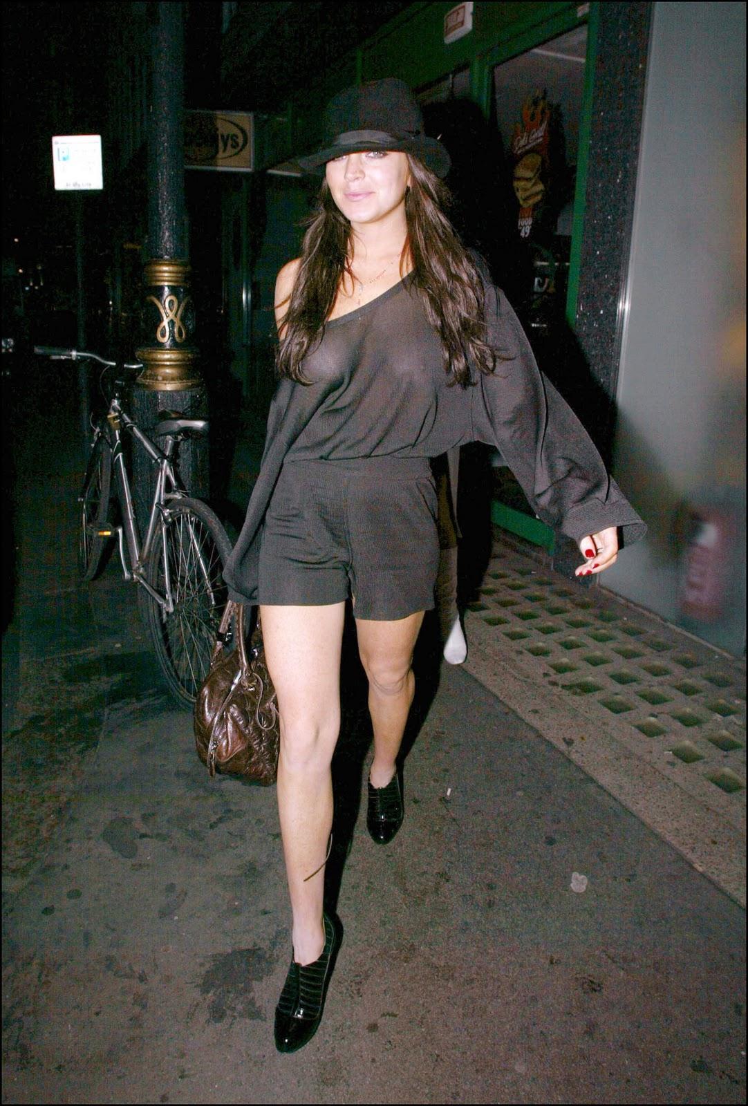 Los mejores descuidos de Lindsay Lohan parte 1