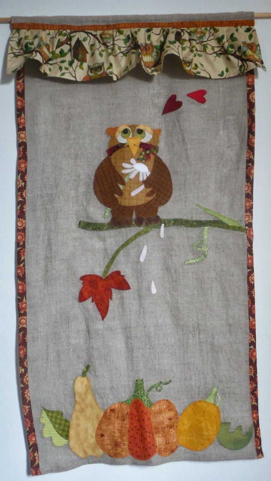 Il patchwork veste casa tende patchwork for Applique cameretta bimbi
