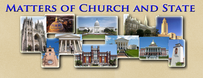 Matters of Church and State