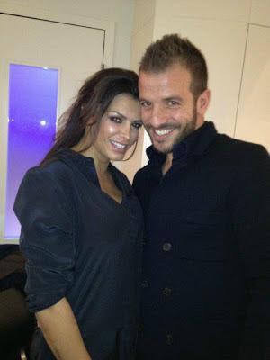 Rafael van der Vaart en Sabia Boulahrouz verliefd