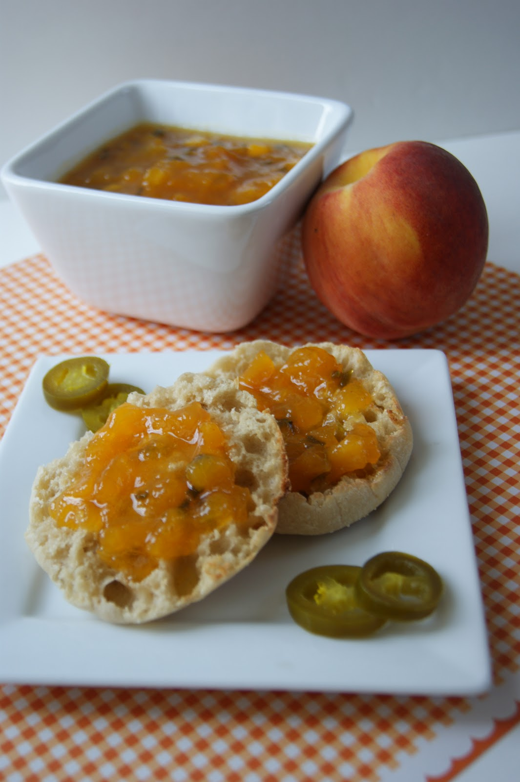 peach jalapeno jam print ingredients 3 peaches peeled and pitted and ...
