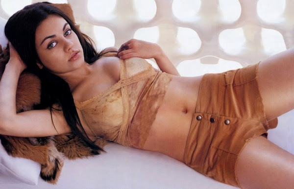 Russian Beauty Model Mila Kunis Fashion Photo Shoot