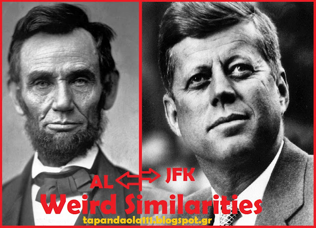 Abraham Lincoln, John F. Kennedy, Weird, Similarities, Unbelievable