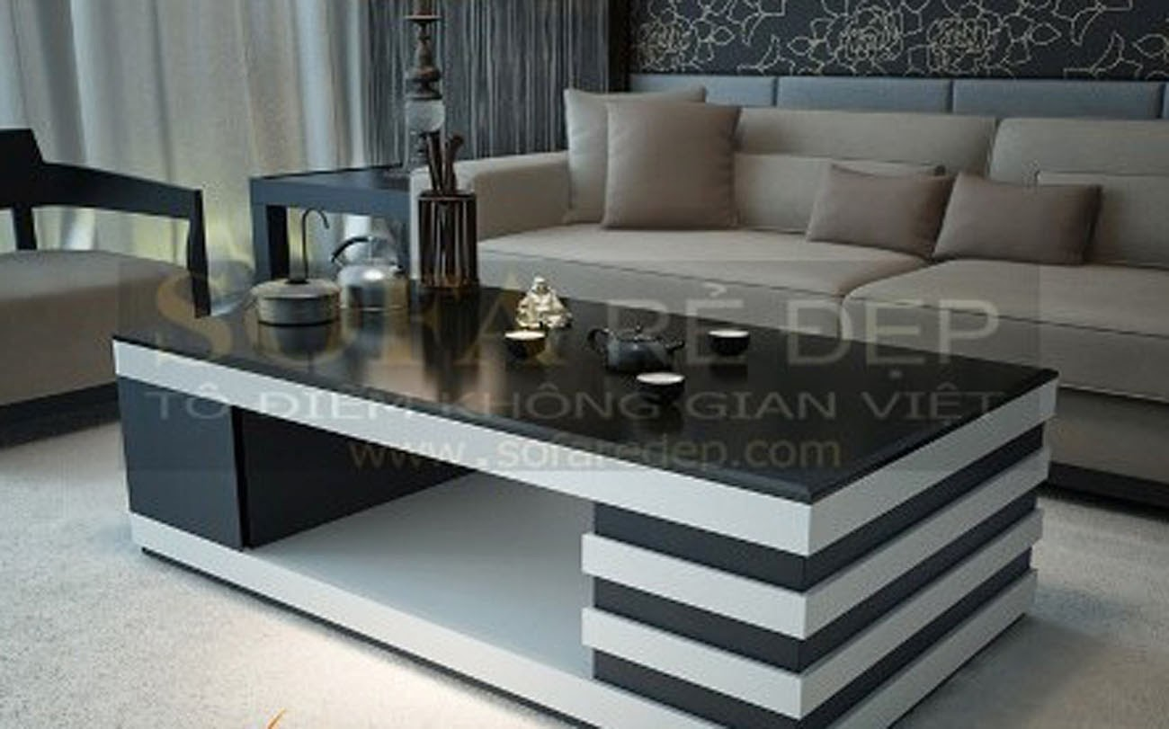 Bàn sofa gỗ BS048