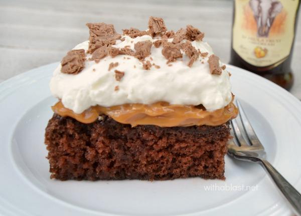 Easy chocolate caramel cake recipes