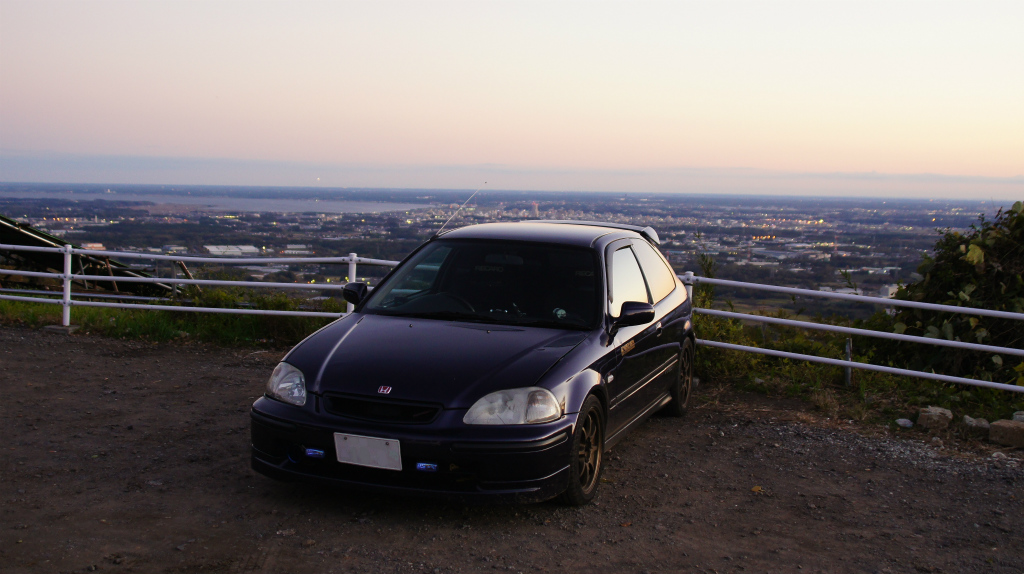 Honda Civic EK4, japoński hatchback, lata 90, VTEC is kicking in, B16, kultowy samochód, pasja, motoryzacja