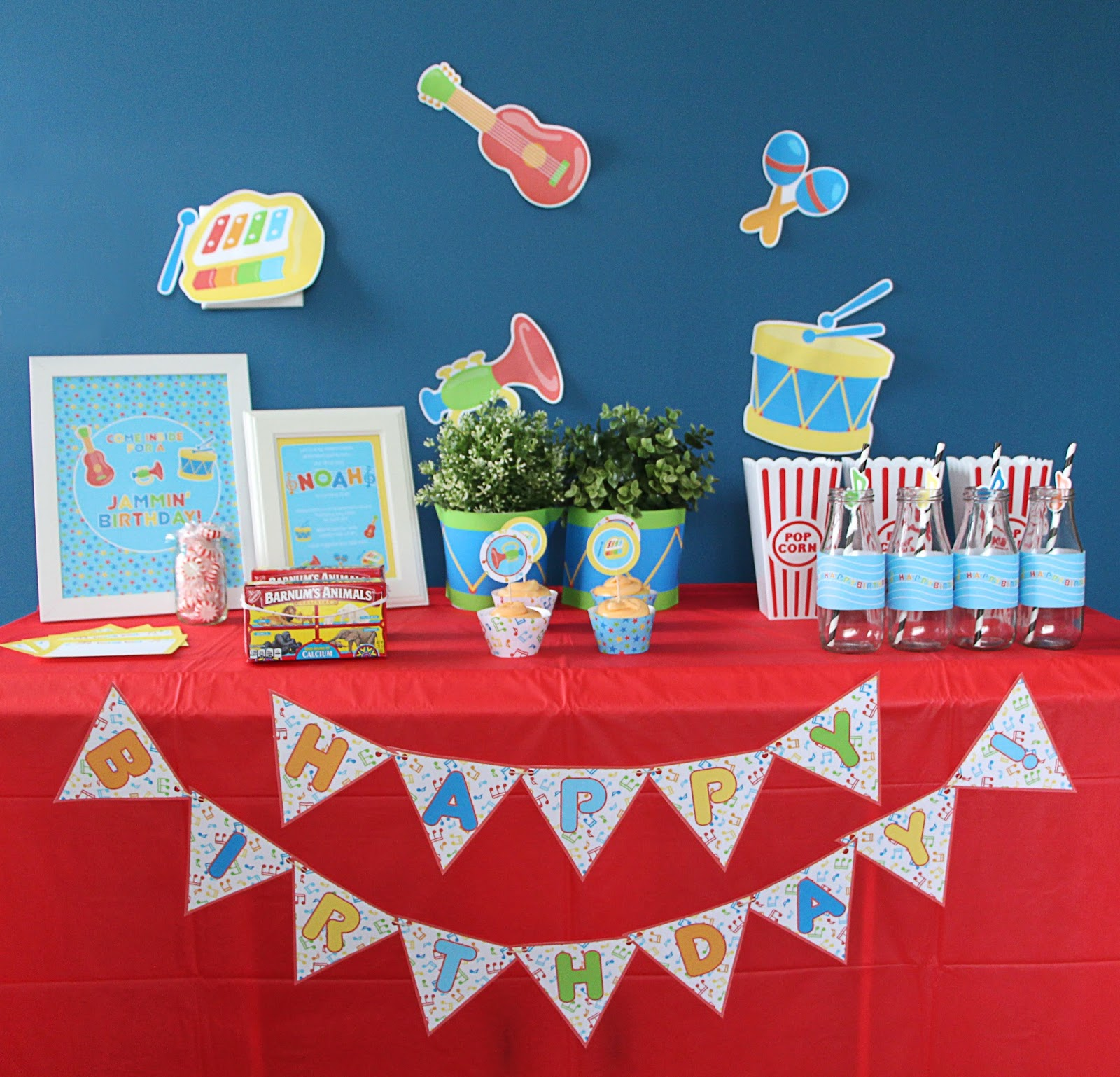 Whirligigs Party Co: A Music Birthday Party