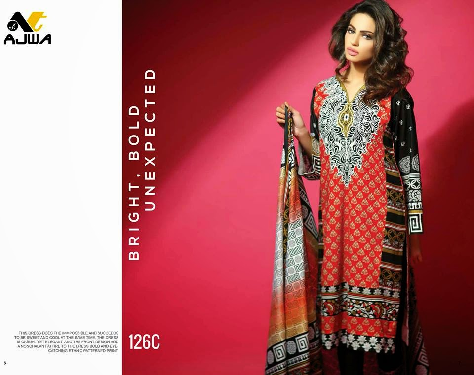 Ajwa lawn collection 2015 with prices