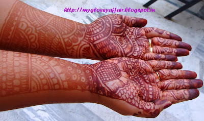 Karwachauth mehendi henna