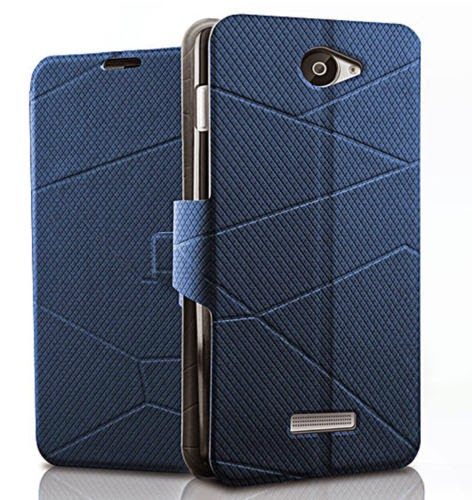 Fashion Protective Flip Case Cover Pouch for Lenovo S650 Android Cell Smartphone
