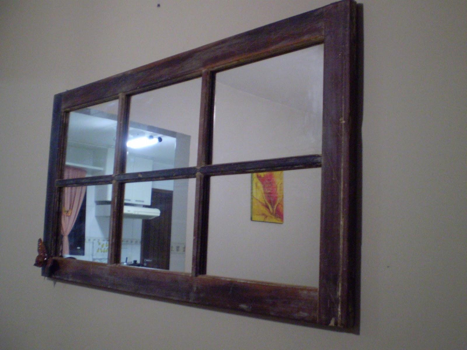 #366B95 Só descascamos e passamos cera. Uma virou espelho e a outra porta  588 Janelas Em Madeira Para Quarto