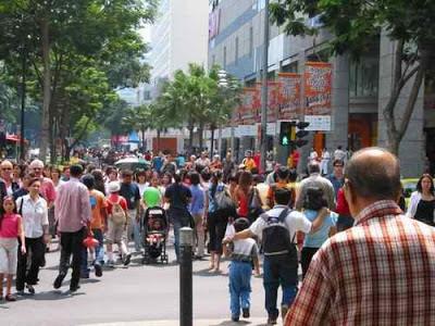 penunjuk jalan, jalan ochard, singapore, singapura, tempat belanja, wisata singapore