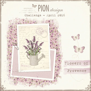 Pion design April utmaning