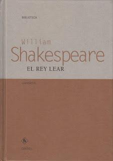 El rey Lear William Shakespeare
