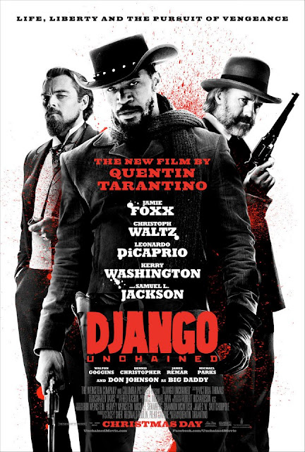 "Póster ""Django desencadenado"" del director Quentin Tarantino"