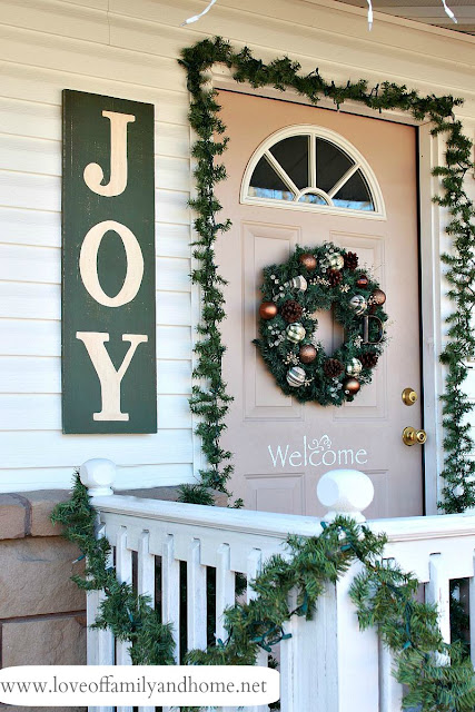 painted joy sign