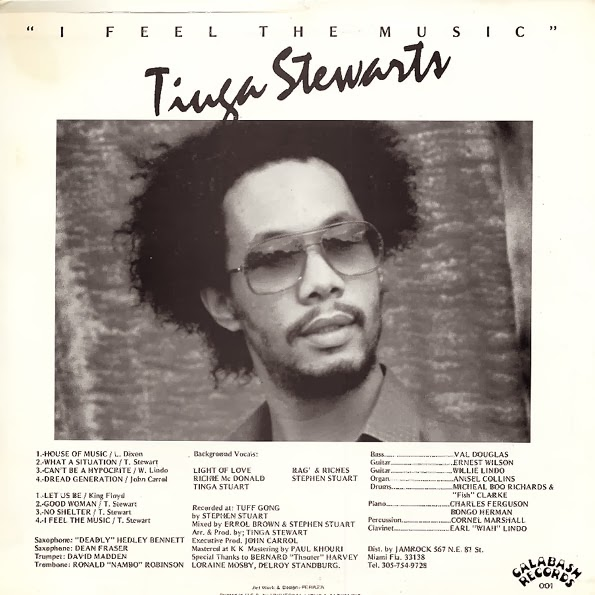 Tinga Stewart I Feel The Music