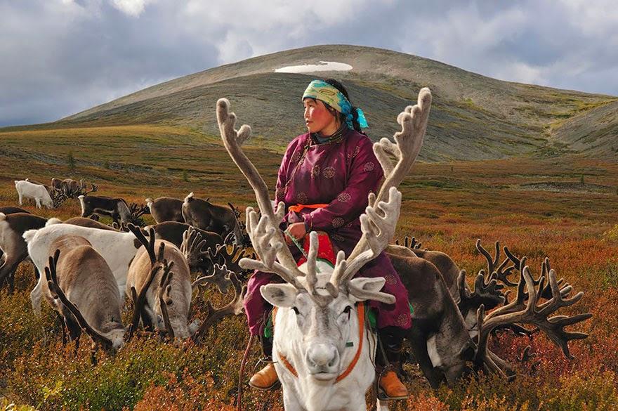 reindeer people Dukha people Hamid Sardar-Afkhami-1