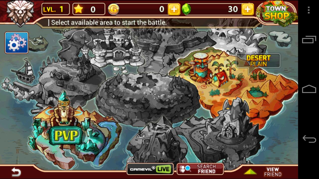 Arel Wars 2 Hints, Android - Super Cheats