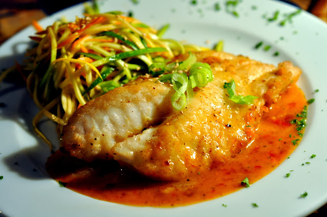 Thai Snapper - Blue Marlin Restaurant - Bradenton Beach, FL | Taste As You Go