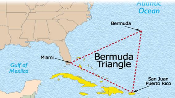 Misteri Aneh Lautan, Fenomena Alam Segitiga Bermuda