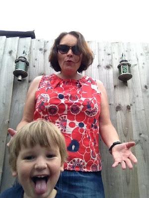 Fivegoblogging selfie