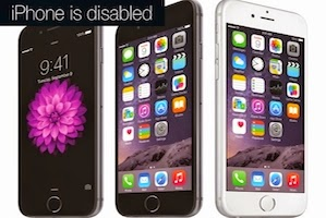 Cara Memperbaiki iPhone, iPad dan iPod is Disabled atau Nonaktif