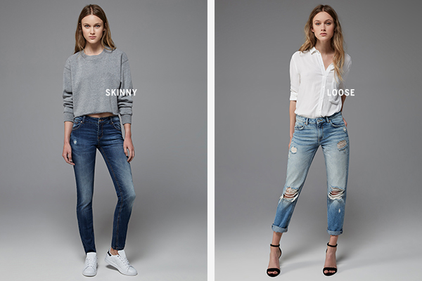 Bershka jeans skinny Loose