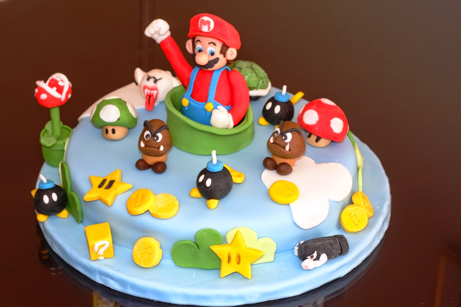 motivtorte super mario. Black Bedroom Furniture Sets. Home Design Ideas