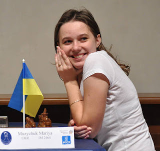 Echecs à Karkhov : Mariya Muzychuk (2466)