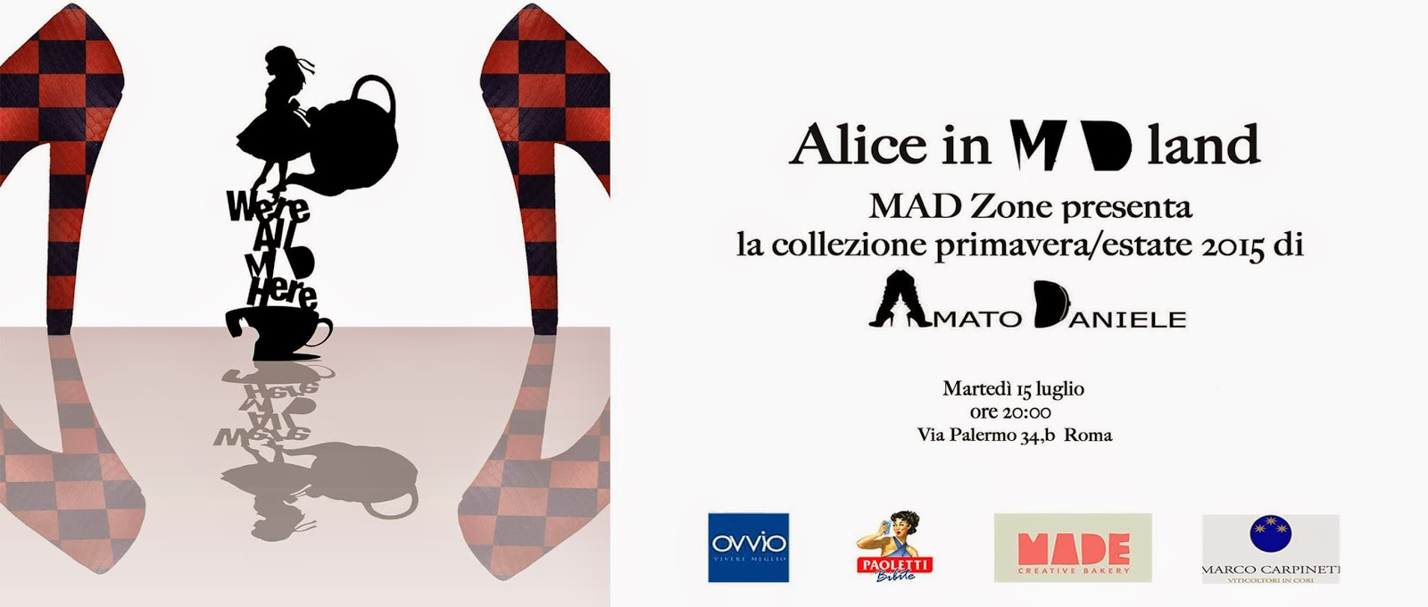mad zone, daniele amato, scarpe