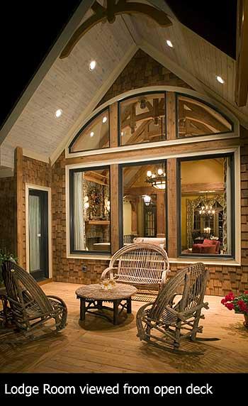 Luxury house stunning rustic craftsman home plan house for Award winning craftsman home designs