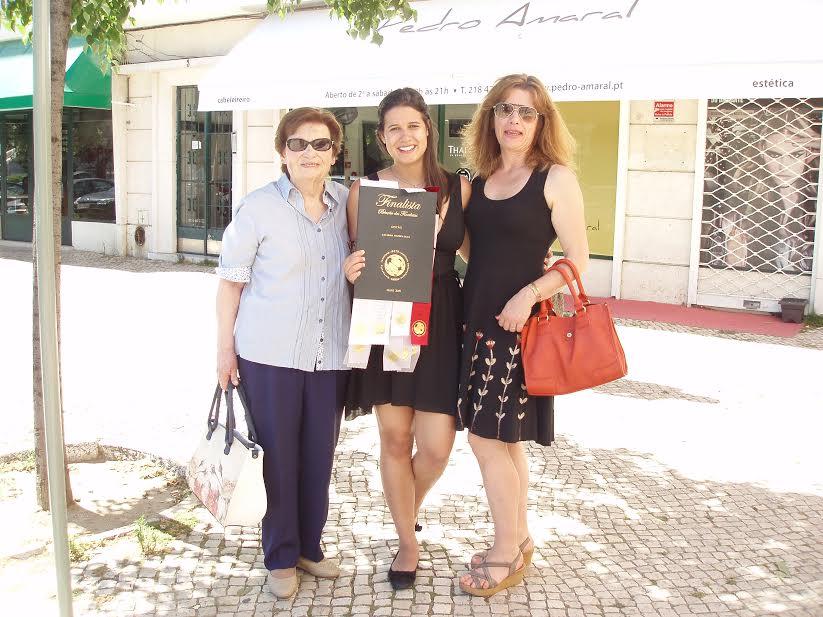 Catarina com a Mãe e Avó