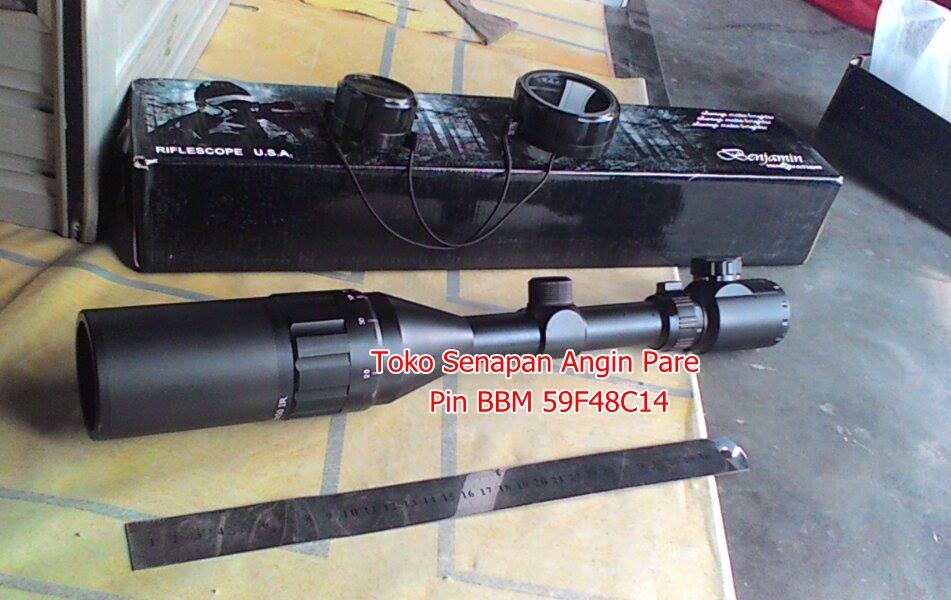 Dudukan teleskop senapan angin canon jenis senapan angin dan