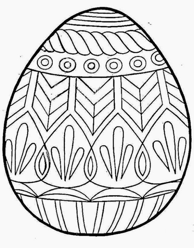 ukraine eggs coloring pages - photo#14